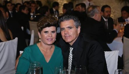 Verónica y Luis Motilla.