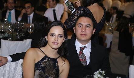 En la boda.