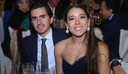 Guillermo Gómez y Michelle Cano.