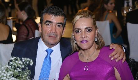 Horacio Tobías y Mimí Hinojosa.