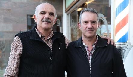 José Luis Musa y Javier Adrián.