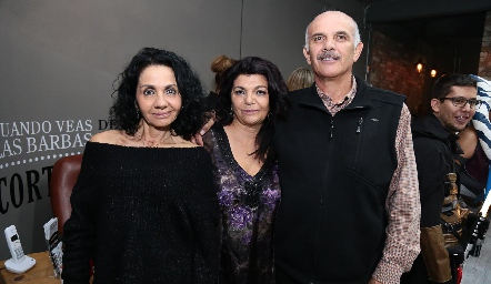 María Musa, Malaque Musa y José Luis Musa.