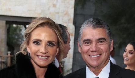 Beatriz Rangel y Mario Martell.