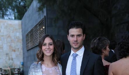 Elena Pelayo y Claudio Meade.