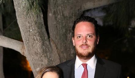 Conchita Stahl y Rodrigo Ruiz.