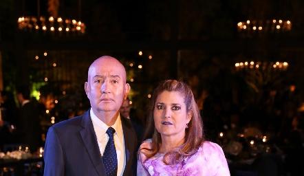 José Zendejas y Silvia Foyo.