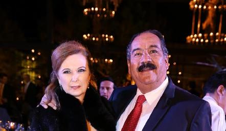 Isabel Narváez y Carlos Torres.