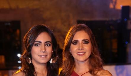María José Berrueta y Pily Castañón.