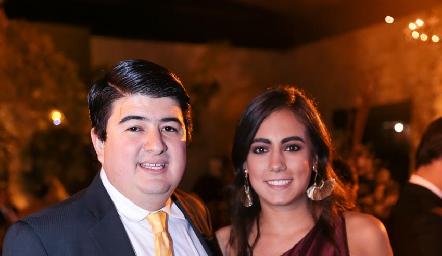 Rolando Domínguez y María José Berrueta.