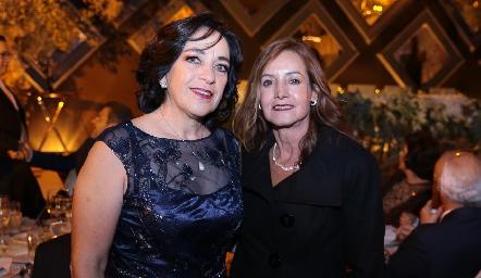Cuca Díaz Infante y Alma Rosa Orozco.