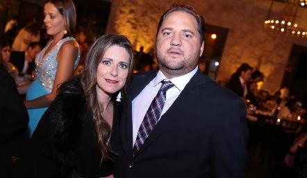 Daniela Villaseñor y Federico Enríquez.