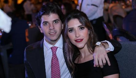 Sebastián Garza y Nuria Minondo.