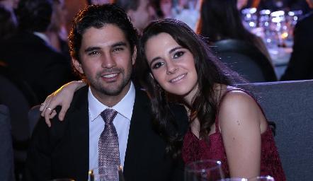 José Luis Leiva y Daniela Valle.