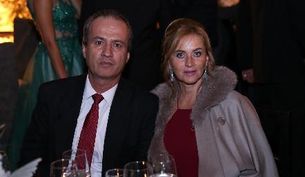 Ricardo Andrés y Lorena Robles.