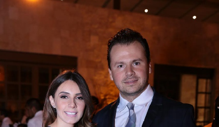 Angélica Padrón y Rodrigo Carlos.