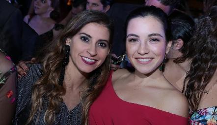 Conchita Stahl y Yusa de la Rosa.