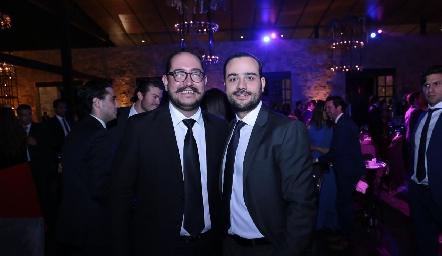 Eduardo Delgado y Sergio Madrigal.
