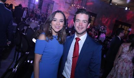 Marijó Ramírez y Daniel Granados.