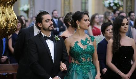 José Luis y Marcela Villaseñor.