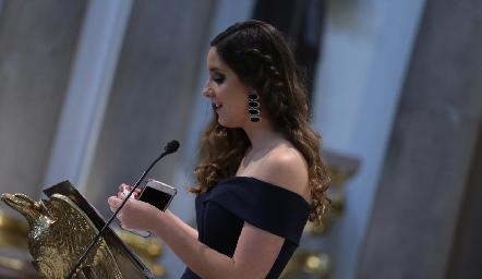 Miriam Díaz Infante.