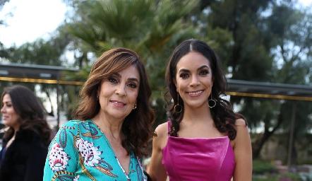 Laura Mitre y Ana Laura Rodríguez.