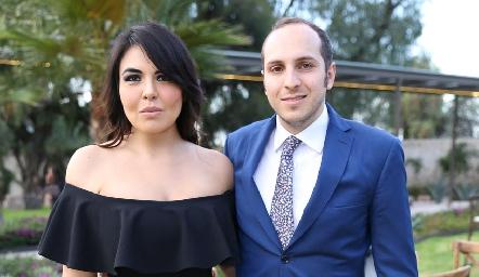 Mónica Bonilla y Marco Hop.