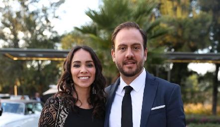 Jessica Gallegos y Gerardo Hernández.