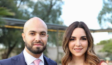 Felipe González y Carla Garza García.
