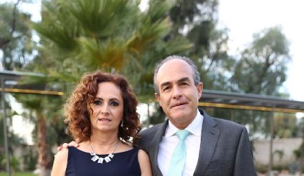Teté y Felipe González.