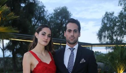 Valeria Díaz y José Contreras.