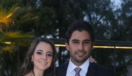 Daniela Valle y José Luis Leiva.