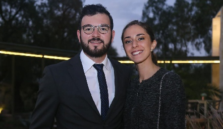 Andrés Domínguez y Marian Garcín.