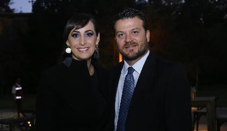 Isabel Obregón y Luis Kury.
