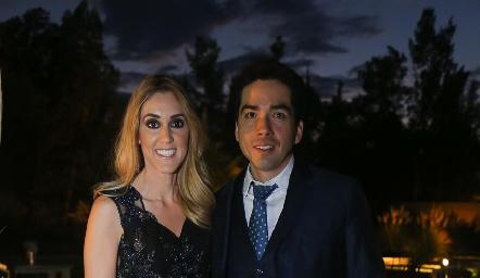 Fernanda Branis y Luis Hernández.