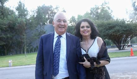 Fernando Domínguez y Paty Ordoñez.