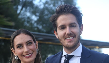 Ana Franco y Hugo Pardo.