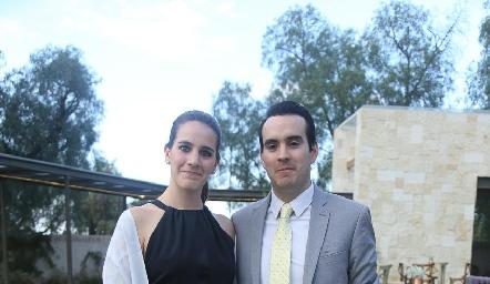 Mercedes Díaz y Alejandro Domínguez.