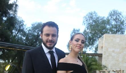 Mauricio Martínez y Jimena Nava.