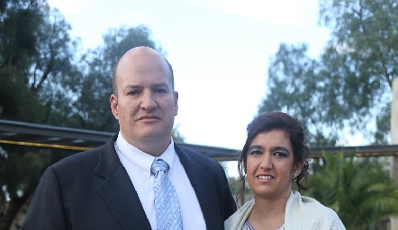 Luis Gutiérrez y Ofelia Zacarías.