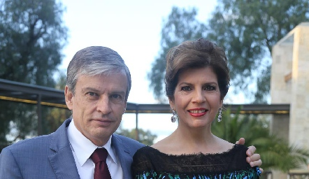 Gerardo y Ana Lucía Díaz Infante.
