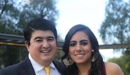 Rolando Domínguez y María Berrueta.