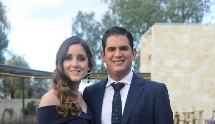 Miriam Díaz Infante y Antonio Morales.