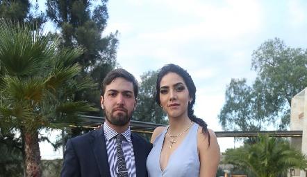 José Antonio Martínez y Elsa Santoyo.