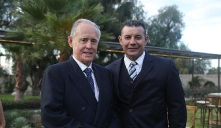 Antonio Brendis y Fernando Somohano.