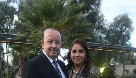 José Antonio Correa y Mili Estrada.
