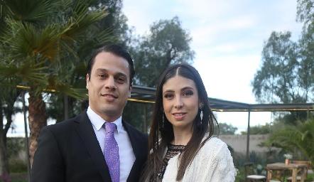 Miguel Caballero y Teresa Zertuche.