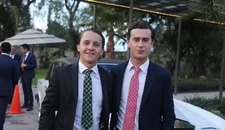 Franco Safont e Iñaki Mendizábal.