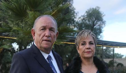 Marco Aranda e Isabel González.