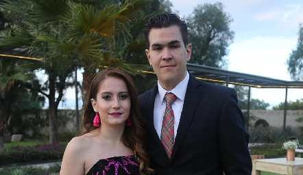 Amaya y Rodrigo Rosillo.