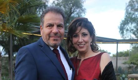 Héctor Cabrera y Carmen Díaz Infante.